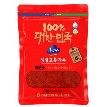 (인빌푸드)삼굿마을 청결고춧가루(매운맛) [1kg]