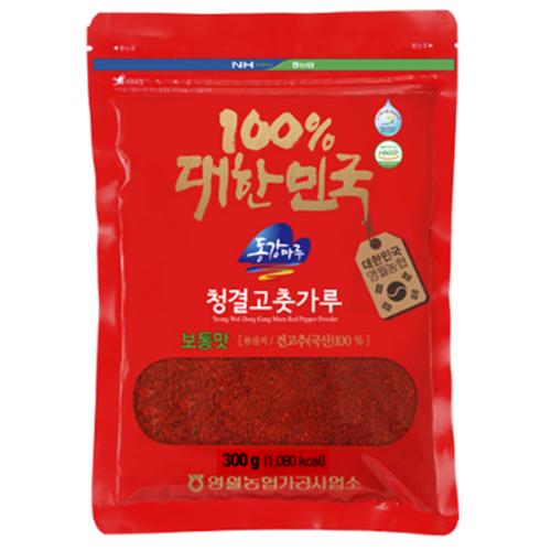 (인빌푸드)삼굿마을 청결고춧가루(보통맛) [300g]