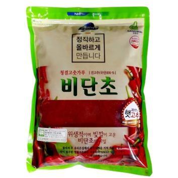 (인빌푸드)(17년산)비단초고춧가루(태양초, 1kg) [1kg]