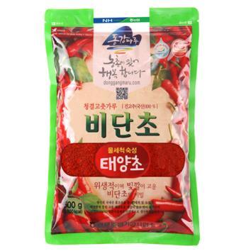 (인빌푸드)(17년산)비단초고춧가루(태양초, 500g) [500g]