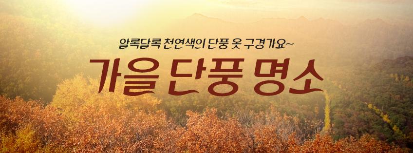 가을단풍명소