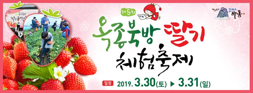 옥종 북방 딸기체험 축제